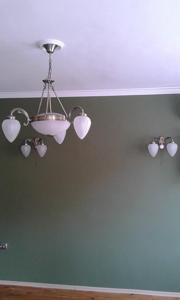 декоративни корнизи в къща в с.Герман