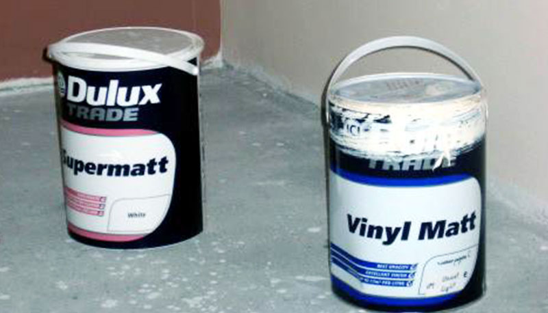 боядисване с латекс Dulux